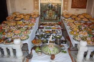 અન્નકુટ દર્શન - સંતરામ મંદિર, ઉમરેઠ